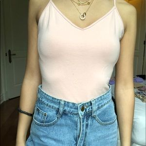 Baby Pink Bodysuit Forever 21